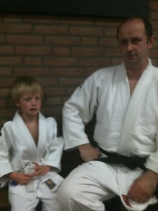 John Oomen nieuwe judodocent per 1 mei 2015 op de maandagavond